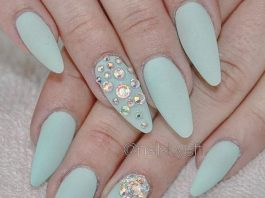 mint matte jewel