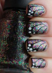 iridescent glitter wings