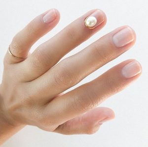 clear pearl wire cuticle