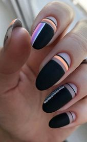 neon touch matte black shapes