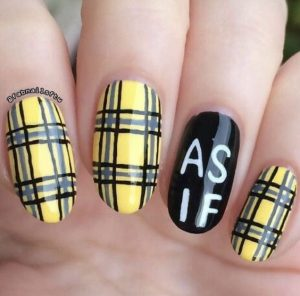 as if plaid design