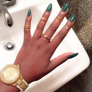 green envy dark skin