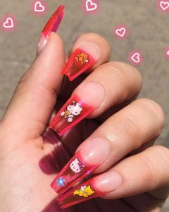 jelly tips hello kitty