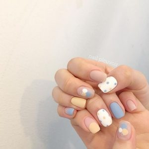 pastel design mattified korean