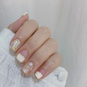 shell embellished korean