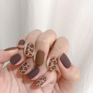 korean matte animal print
