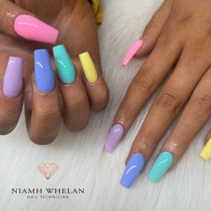 easter colors for dark skin