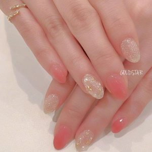 kawaii clear design pink