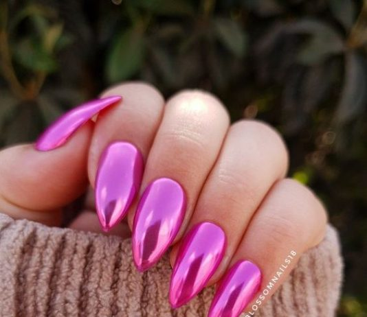 super shine chrome pink