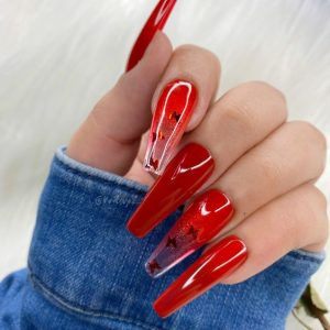 red coffin jelly nail