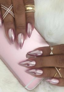 sharp chrome pink shade