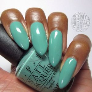 dark skin solid turquoise