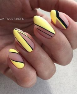black and yellow shapes