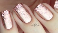 rose gold chrome textures