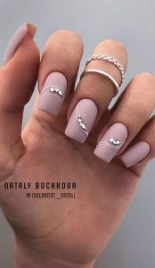 matte mauve stone girly