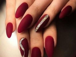 rhinestone designs on maroon