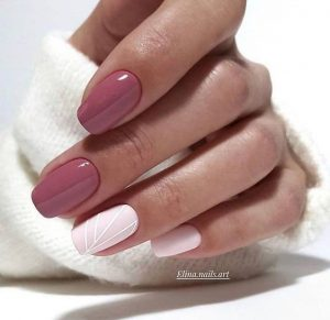 mauve white striping