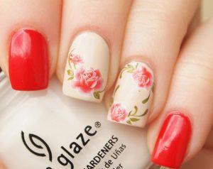 rose red pattern