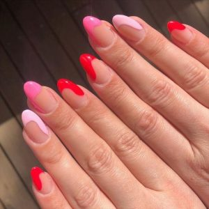 pink red end brights