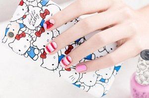 hello kitty nail set