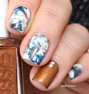 earthy nails
