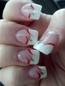 elegant candy nails