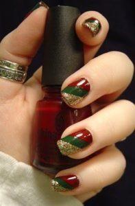 nutcracker nails