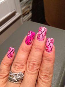 Mesh nails