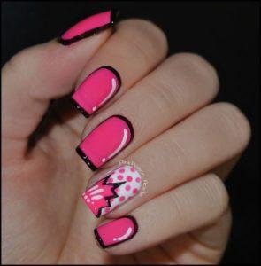 comic Con nails