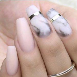 pretty coffin nail ideas