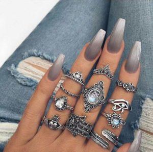 best coffin nail art designs
