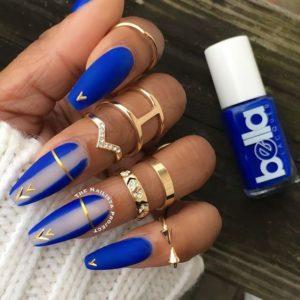 pretty coffin nail design