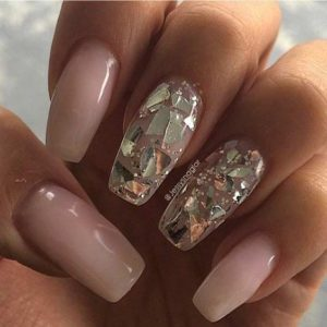 diamond coffin nails
