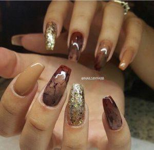 coffin nail art