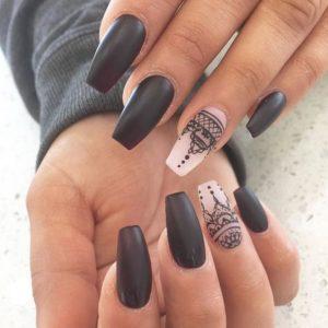 creative coffin nail designs