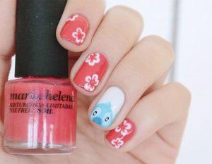 lilo and stitch nail art