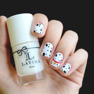 101 dalmatian nail art
