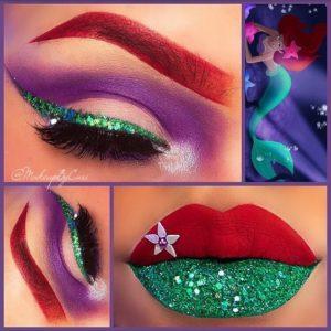 ariel makeup