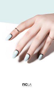 cage pastel nail art