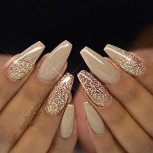 4 - Gold Glitter