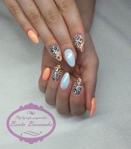 reflective nails
