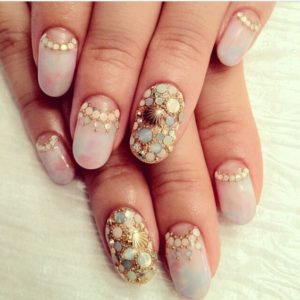 ombré nail design