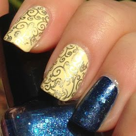 beuaty and the beast nails