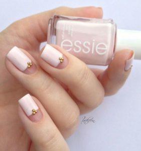 nude nail design idea