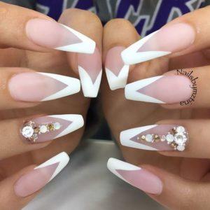 french nail design idea