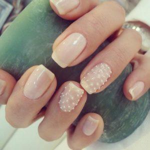 nude caviar nails