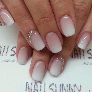 ombré frnech manicure