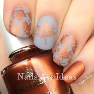 nails fall design
