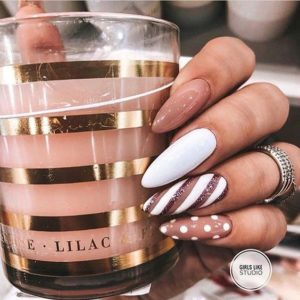candy nude nails