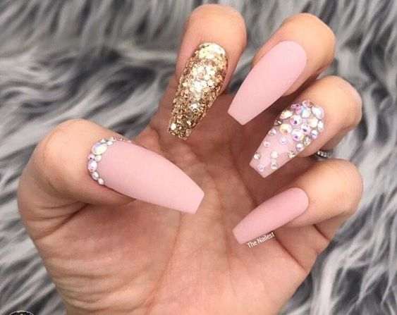 Casket Nails For Day And Night Outs Casket Nail Designs
